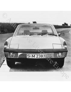 1969 PORSCHE 914 PRESSEBILD