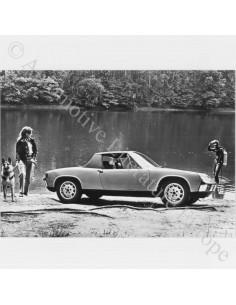 1969 PORSCHE 914 PRESS PHOTO