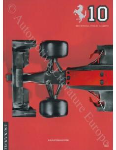 2010 THE OFFICIAL FERRARI MAGAZINE 10 ENGLISH