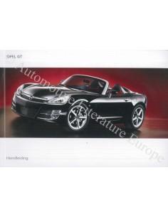 2007 OPEL GT OWNER'S MANUAL DUTCH