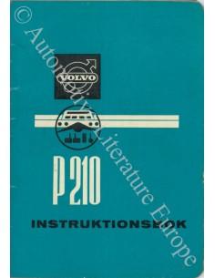 1957 VOLVO PV 444 INSTRUCTIEBOEKJE ZWEEDS