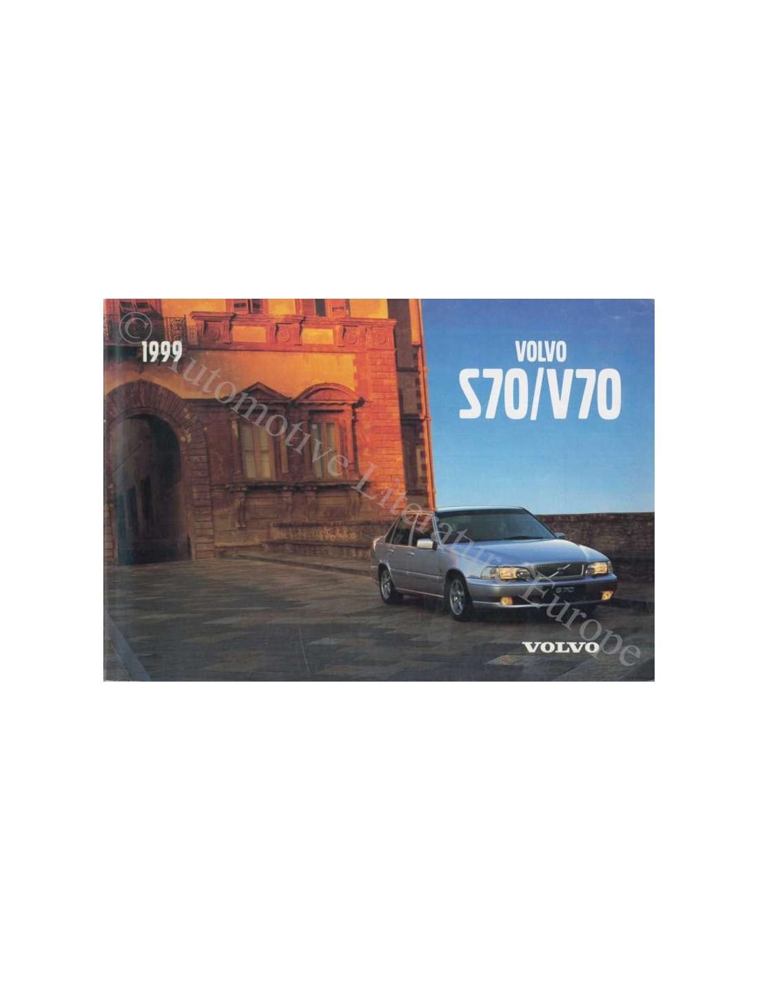 1999 volvo s70 v70 owner s manual english rh autolit eu 1999 volvo v70 repair manual 1999 volvo v70 owners manual pdf