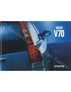 2000 VOLVO V70 OWNER'S MANUAL GERMAN