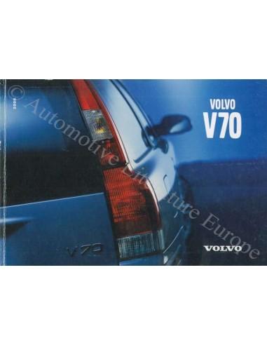2000 VOLVO V70 OWNER'S MANUAL GERMAN