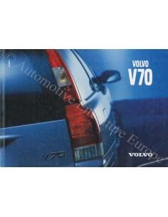 2001 VOLVO V70 BETRIEBSANLEITUNG NIEDERLÄNDISCH