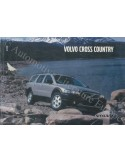 2002 VOLVO V70 CROSS COUNTRY OWNER'S MANUAL ENGLISH US