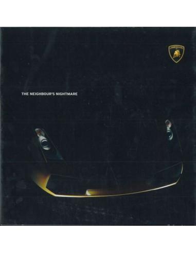 2005 LAMBORGHINI GALLARDO BROCHURE ENGELS