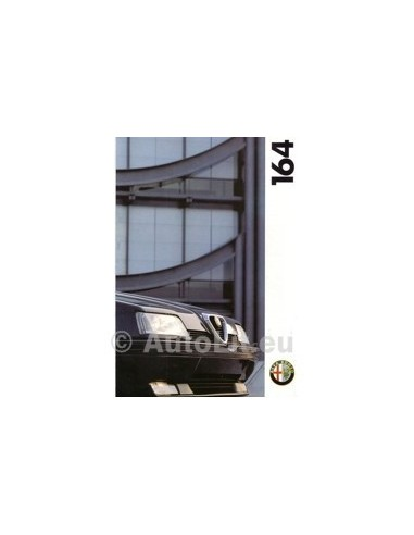 1994 ALFA ROMEO 164 BROCHURE NEDERLANDS