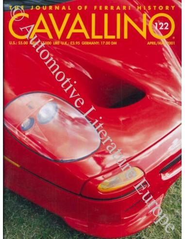 2001 FERRARI CAVALLINO MAGAZINE USA 122