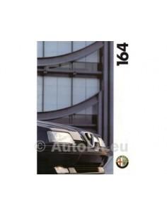 1993 ALFA ROMEO 164 BROCHURE DUTCH