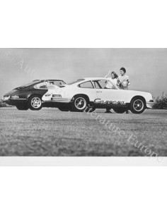 1973 PORSCHE 911 2.7 CARRERA RS PRESS PHOTO