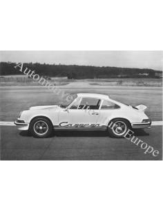 1973 PORSCHE 911 2.7 CARRERA RS PRESSEBILD