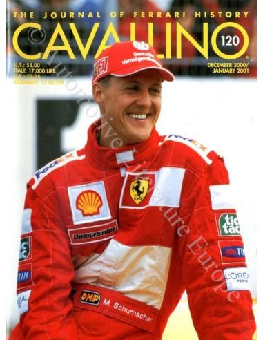 2000/2001 FERRARI CAVALLINO MAGAZINE USA 120