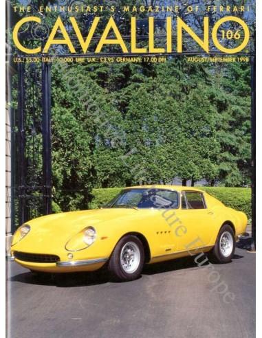 1998 FERRARI CAVALLINO MAGAZINE USA 106