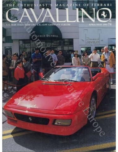 1993 FERRARI CAVALLINO MAGAZINE USA 74