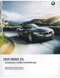 2013 BMW Z4 ROADSTER BROCHURE GERMAN