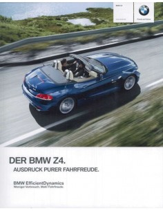 2011 BMW Z4 ROADSTER BROCHURE GERMAN