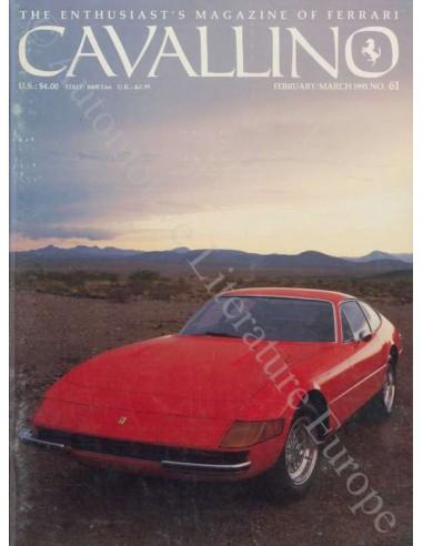 1991 FERRARI CAVALLINO MAGAZIN USA 61