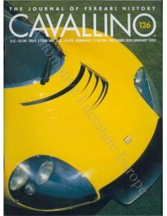 2001/2002 FERRARI CAVALLINO MAGAZINE USA 126