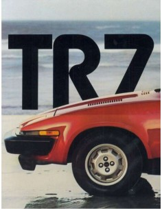1979 TRIUMPH TR7 BROCHURE ENGLISH US