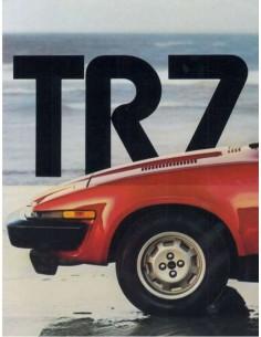 1979 TRIUMPH TR7 PROSPEKT ENGLISCH USA