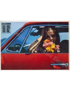 1966 PORSCHE 911 / 912 PROSPEKT DEUTSCH ENGLISCH FRANZÖSISCH