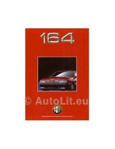 1991 ALFA ROMEO 164 PROSPEKT NIEDERLANDISCH