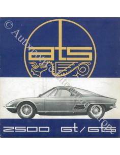 1963 ATS 2500 GT / GTS BROCHURE ITALIAANS
