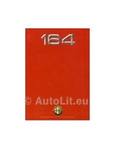 1989 ALFA ROMEO 164 PROSPEKT NIEDERLANDISCH