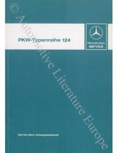 1984 MERCEDES BENZ E CLASS W124 WORKSHOP MANUAL GERMAN