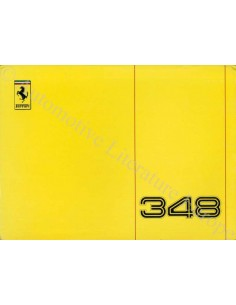 1990 FERRARI 348 TB / TS BETRIEBSANLEITUNG 595/90