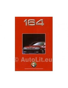 1992 ALFA ROMEO 164 BROCHURE NEDERLANDS