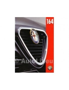 1996 ALFA ROMEO 164 BROCHURE DUTCH