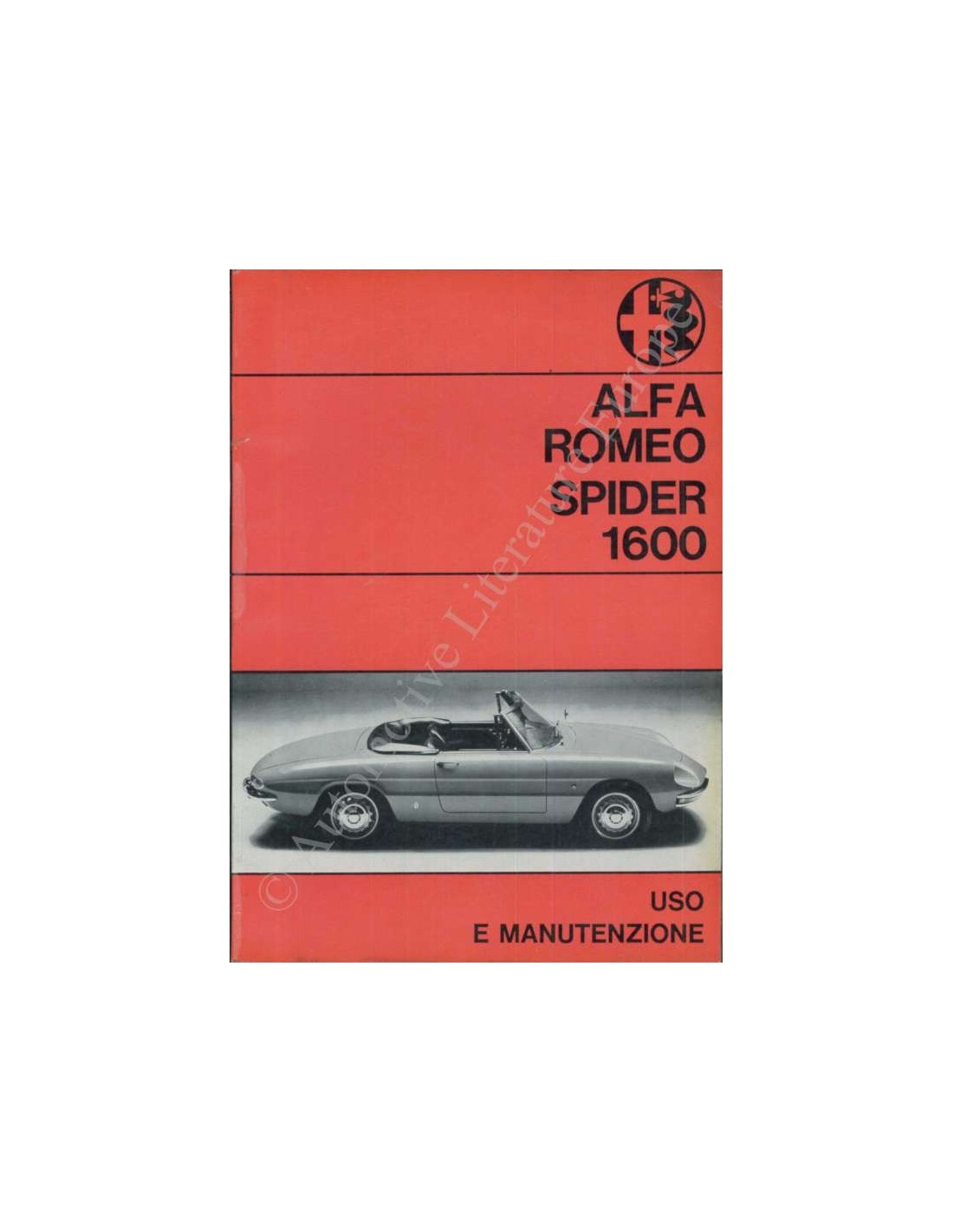 1967 alfa romeo spider 1600 owners manual italian rh autolit eu alfa romeo spider 916 manual alfa spider manual download