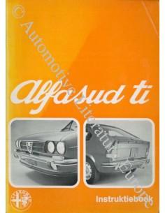 1975 ALFA ROMEO ALFASUD TI OWNER'S MANUAL DUTCH