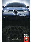 1997 ALFA ROMEO 156 BROCHURE NEDERLANDS