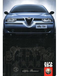 1997 ALFA ROMEO 156 BROCHURE DUTCH