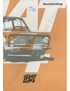 1966 FIAT 124 BETRIEBSANLEITUNG NIEDERLÄNDISCH