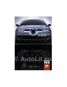 1999 ALFA ROMEO 156 BROCHURE GERMAN