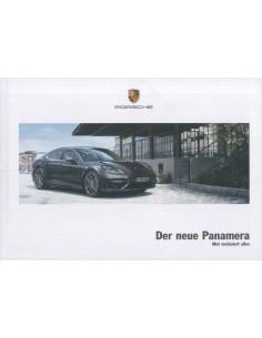 2017 PORSCHE PANAMERA HARDCOVER BROCHURE GERMAN