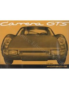 1966 PORSCHE 904 CARRERA GTS BROCHURE GERMAN