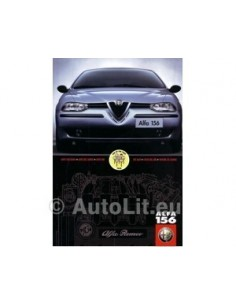 1998 ALFA ROMEO 156 BROCHURE DUTCH