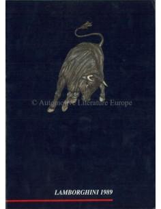 1989 LAMBORGHINI JAHRESBUCH ENGLISCH / ITALIENISCH