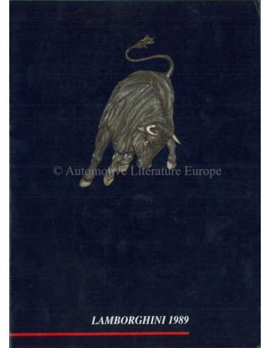 1989 LAMBORGHINI YEARBOOK ENGLISH / ITALIAN