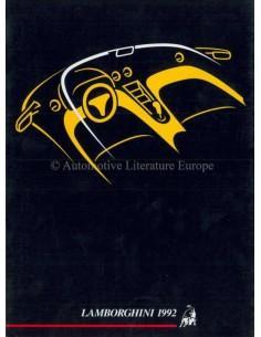 1992 LAMBORGHINI JAHRESBUCH ENGLISCH / ITALIENISCH