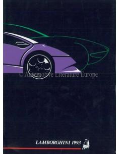 1993 LAMBORGHINI JAARBOEK ENGELS / ITALIAANS