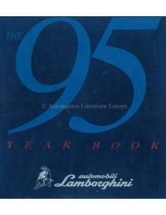 1995 LAMBORGHINI JAARBOEK ENGELS / ITALIAANS