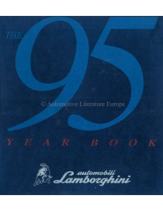 1995 LAMBORGHINI YEARBOOK ENGLISH / ITALIAN