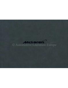 2011 MCLAREN MP4-12C HARDCOVER BETRIEBANLEITUNG ENGLISCH