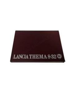 1989 LANCIA THEMA 8.32 INSTRUCTIEBOEKJE FRANS